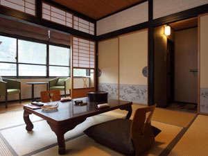 3つの無料貸切風呂・全室禁煙の美食宿 湯田川温泉 珠玉や:落ち着いた雰囲気の和室(写真は一例です)