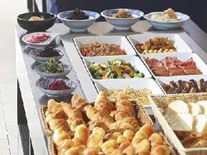からすま京都ホテル:ビュッフェ朝食(イメージ)