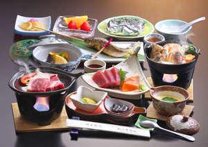 草津温泉 松乃井旅館:若女将の心のこもった手料理