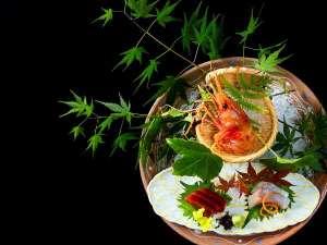 ■上州和牛会席■新鮮な材料を用いて調理したお料理。