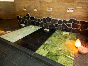 マホロバマインズ三浦:2016年にクアパーク内にオープンした岩盤リラックスエリア