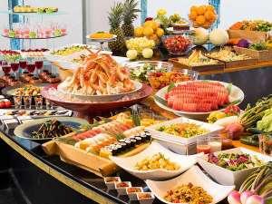 マホロバマインズ三浦:三浦の幸と季節のお料理・カニも食べ放題のディナーバイキング