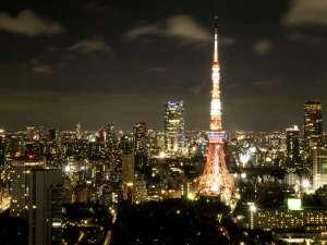 【観光】東京タワー(夜景)