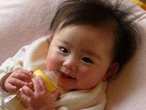 温泉デビュー!赤ちゃんも、にっこり笑顔~♪