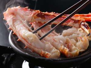 癒しめぐりの宿 夢みさき:札幌中央市場から直送のタラバガニ ぷりっぷりで食べごたえ十分・・☆