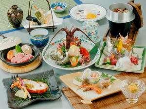 あじ彩の宿 小浜荘:旬と鮮を生かした料理長のお薦めプラン