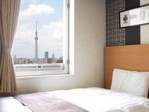 コンフォートホテル東京清澄白河:スカイツリー眺望ルーム☆高層階一部客室からはスカイツリーをご覧いただけます