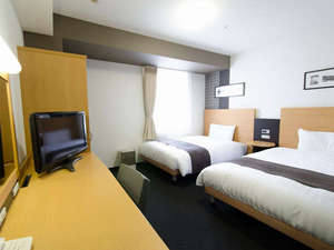 コンフォートホテル東京清澄白河:全室快適なデュベタイプ採用♪ツインエコノミー(2ベッド)