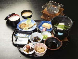 野迫川温泉 ホテルのせ川:朝食
