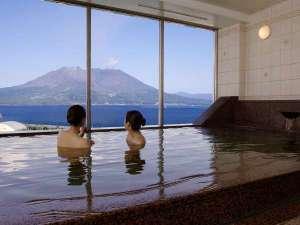鹿児島サンロイヤルホテル:展望温泉