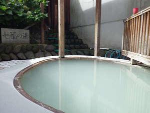 奥塩原温泉 湯荘 白樺:*露天風呂「七福の湯」。春は新緑、冬は雪見をしながらお入りいただけます。