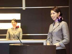 リッチモンドホテル札幌大通:コンシェルジュデスク♪お気軽にお尋ねください。