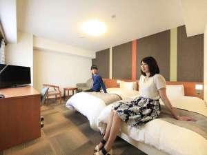 リッチモンドホテル札幌大通:ツインルーム 広々とお過ごしいただけます
