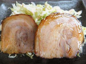 【料理一例】九州ポークを使用した炙り焼き!とってもジューシーなチャーシューです♪