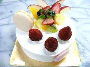 誕生日などの特別な日に!!ケーキのご用意可♪(要問合せ)
