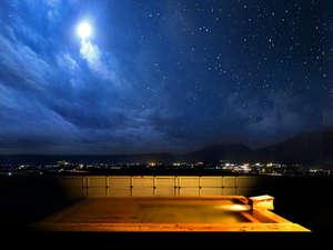 阿蘇プラザホテル:7階展望露天風呂から望む絶景。