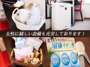 スーパーホテルInn博多:女性に嬉しい設備も充実♪