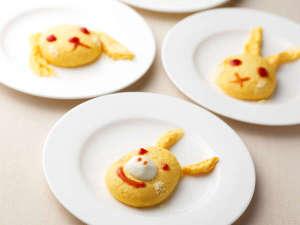 ≪朝食ブッフェ≫動物の形のオムレツもお作りできます!お気軽にお申し付け下さい♪