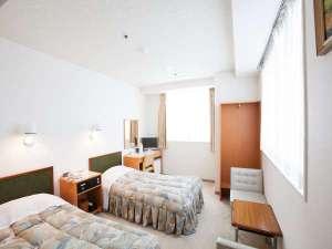 ☆ツインルーム☆ 落ち着いた雰囲気の客室で、ご友人やご家族でのご利用におすすめ♪
