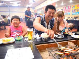 華夕美日本海:囲炉裏バイキング―皆様に笑顔を