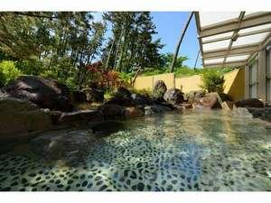 華夕美日本海:新緑の露天風呂
