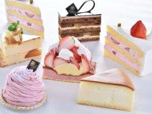 ホテルパティシエ特製のケーキをご自宅でもご賞味いただけます。(テイクアウト一例)