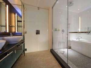 洗い場付きのエグゼクティブツインバスルーム一例