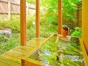 Aタイプ客室露天風呂