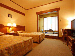 プラザホテル山麓荘 別館四季彩:和洋室一例
