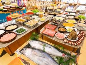 南紀勝浦温泉 ホテル浦島:勝浦が誇る『まぐろ』をめいっぱい食べる。バイキング♪
