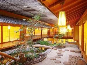 上諏訪温泉 浜の湯:大切な方との旅行に相応しい空間「料亭・浮城」 お祝いにも最適です。