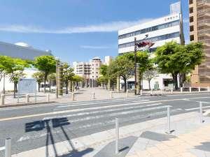 【アクセス】②日立駅を出て左方向に進む。横断歩道を渡り左へ進む。
