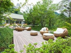 焼津グランドホテル:森のテラス&カフェ