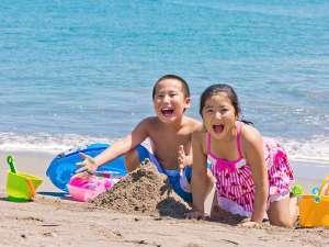 ルネッサンスリゾートナルト:水質バツグン、サラサラの砂♪プライベートビーチで海水浴を思いっきり楽しもう☆