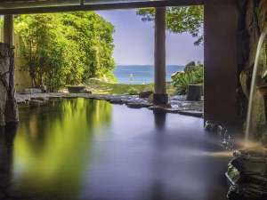 ルネッサンスリゾートナルト:潮騒のBGMに癒されながら、美人の湯とも呼ばれる温泉で寛いで…☆朝日やムーンロードも美しい。