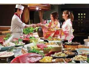ルネッサンスリゾートナルト:出来立ての料理を目いっぱい楽しんでお召し上がり下さい