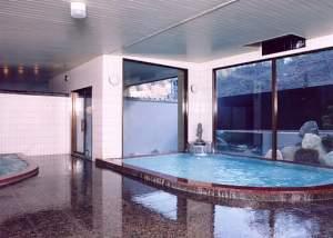 湯元 久米川温泉:つるつるの良質な温泉。広々としたつくりで循環掛け流しだからお湯もきれいです。
