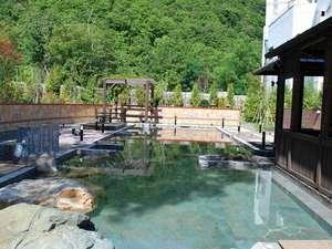 定山渓グランドホテル瑞苑:【希みの湯】自然に囲まれた露天風呂