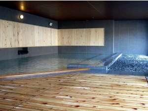 定山渓グランドホテル瑞苑:1階【祈りの湯】心地よい風を感じる半露天風呂