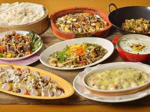 定山渓グランドホテル瑞苑:【秋のバイキング 9~10月】北の大地と海の恵みで育った食材がいっぱい♪