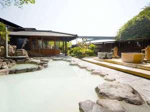 12種の湯処が楽しめるお宿 ゑびす屋旅館:【風と歩く露天風呂】12種類の温泉をたっぷり堪能いただけます。※岩盤浴もございます