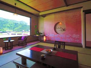 ゆらりゆら 水鳥の宿 さきはな:◆2014年5月リニューアル◆12.5畳【想(おもい)】「桜色」を基調にしたお部屋♪のんびりお過ごし下さい