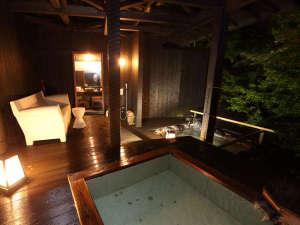 和の宿 華ごころ:露天風呂一例