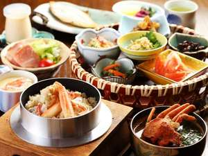 香住 カニ料理が自慢の漁師宿 双葉荘:かに釜飯と女将が作る朝食♪