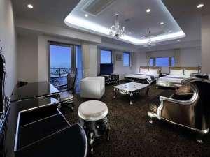 ベネシアンホテル白石蔵王:エグゼクティブコーナースイート蔵王連峰ビュー