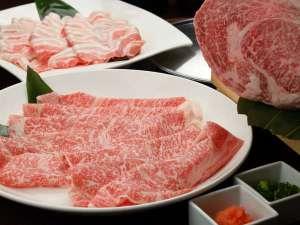 ベネシアンホテル白石蔵王:仙台牛A5・リブロース牛しゃぶしゃぶ