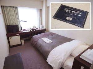 大分センチュリーホテル:シモンズのマットレスに新調しました♪(一部客室除く)スタンダードシングル