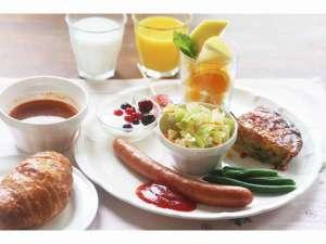ペンション ビー(PENSION BE):ワンプレート朝食