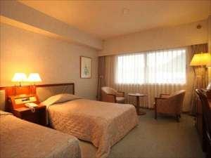 十和田湖レークビューホテル:ツインルームの一例