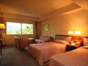 十和田湖レークビューホテル:※トリプルルームの一例(※ツインベッド+ソファーベッド)